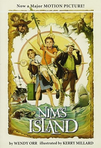 """Our One School One Book book this year is """"Nims Island""""!"""